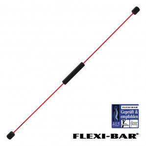 Flexi-Bar Standard - Rot + DVD